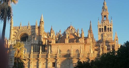 Catedral de Sevilla. Vista exterior