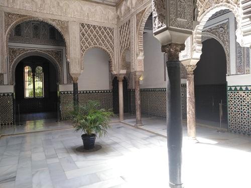 Patio de las Muñecas. Palacio Mudejar