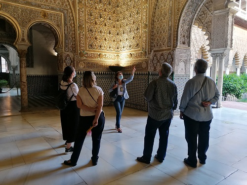 Visita guiada al alcázar de Sevilla