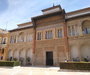 Fachada del palacio mudéjar